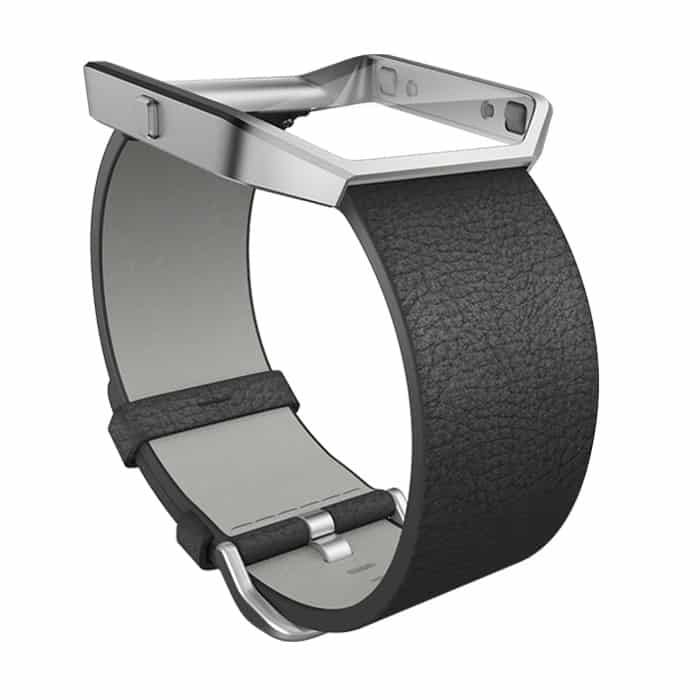 Fitbit Blaze Black Leather Band