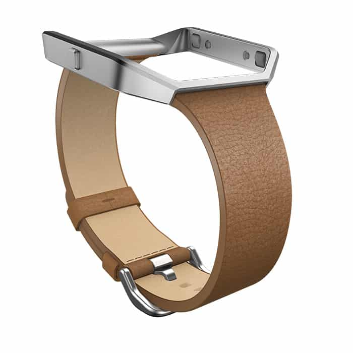 Fitbit Blaze Slim Camel Leather Band