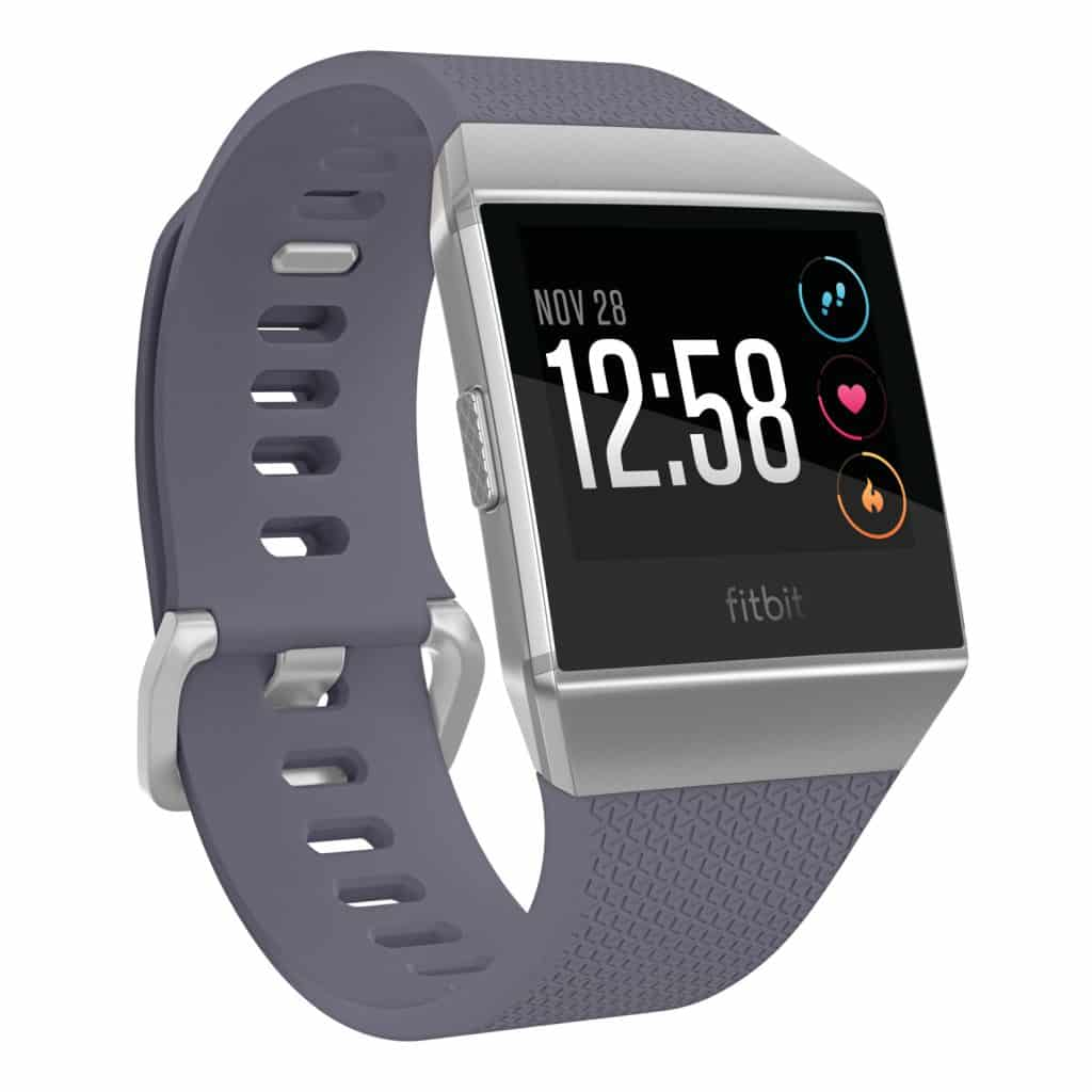 Fitbit Ionic Blue Gray Silver Gray