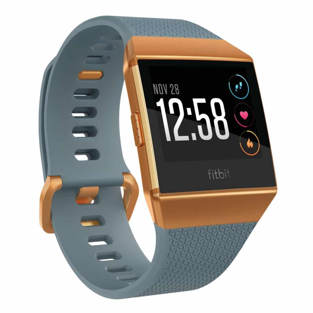 Fitbit Ionic Slate Blue Burnt Orange