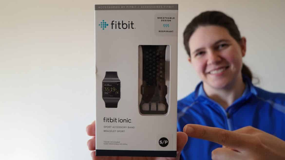 Fitbit Ionic Sport Band Unboxing