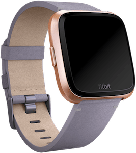 Fitbit Versa Leather Band Lavender