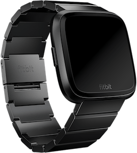 Fitbit Versa Metal Links Band Black