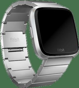 Fitbit Versa Metal Links Band Silver