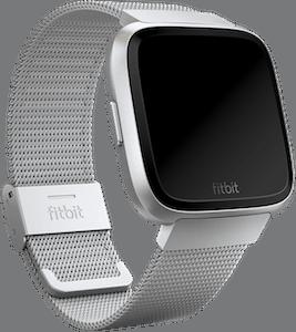 Fitbit Versa Metal Mesh Band Silver