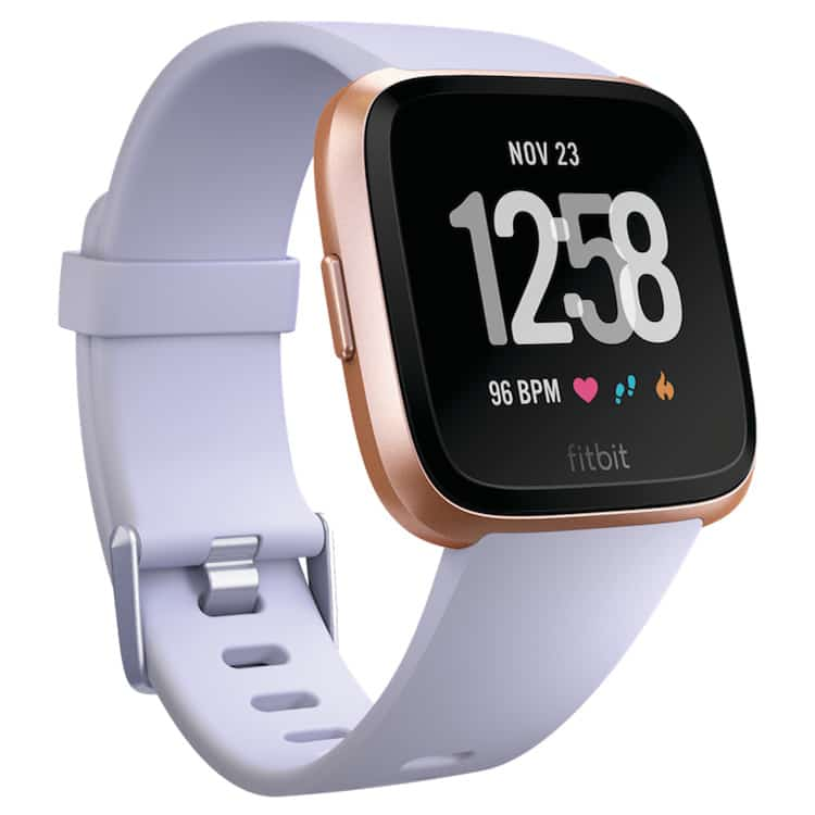 Fitbit Versa Periwinkle Rose Gold