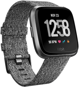 Fitbit Versa Woven Band Charcoal