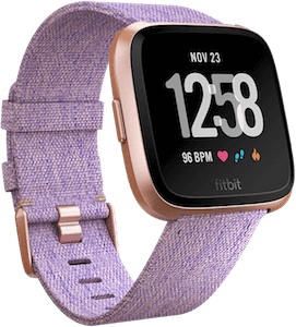 Fitbit Versa Woven Band Lavender