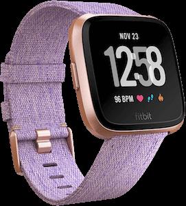 Fitbit Versa Woven Band Lavender