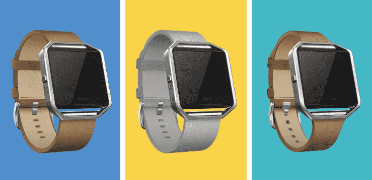 Fitbit Father's Day Sale 2018 - Fitbit Blaze Leather Bands
