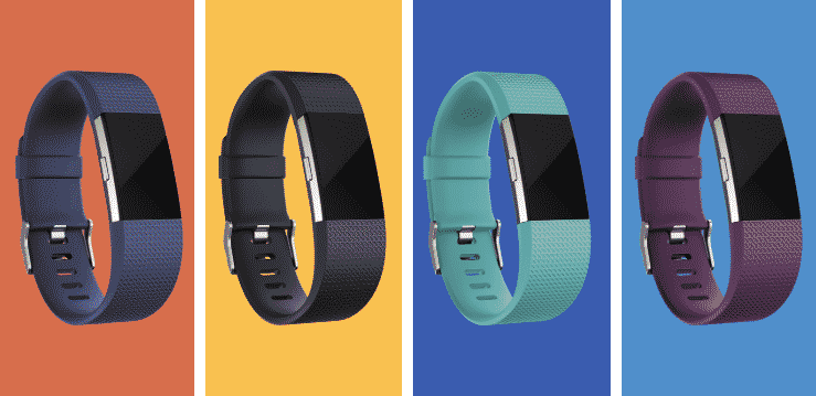 Fitbit Father's Day Sale 2018 - Fitbit Charge 2 Classic Bands