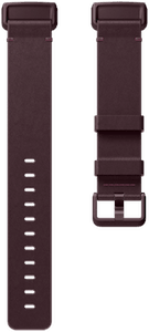 Fitbit Charge 3 Leather Band Plum