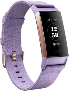 Fitbit Charge 3 Special Edition Woven Lavender