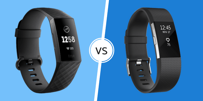 Fitbit Charge 3 vs Charge 2 Comparison - Wearable Whisperer