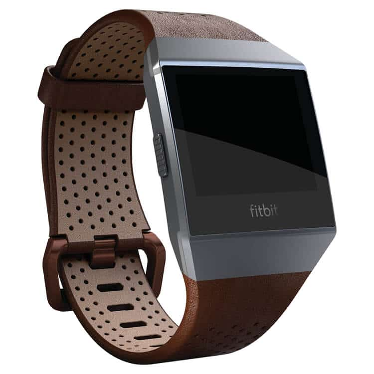 Fitbit Ionic Leather Band Cognac