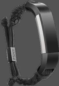 Public School Paracord Bracelet Fitbit Alta HR