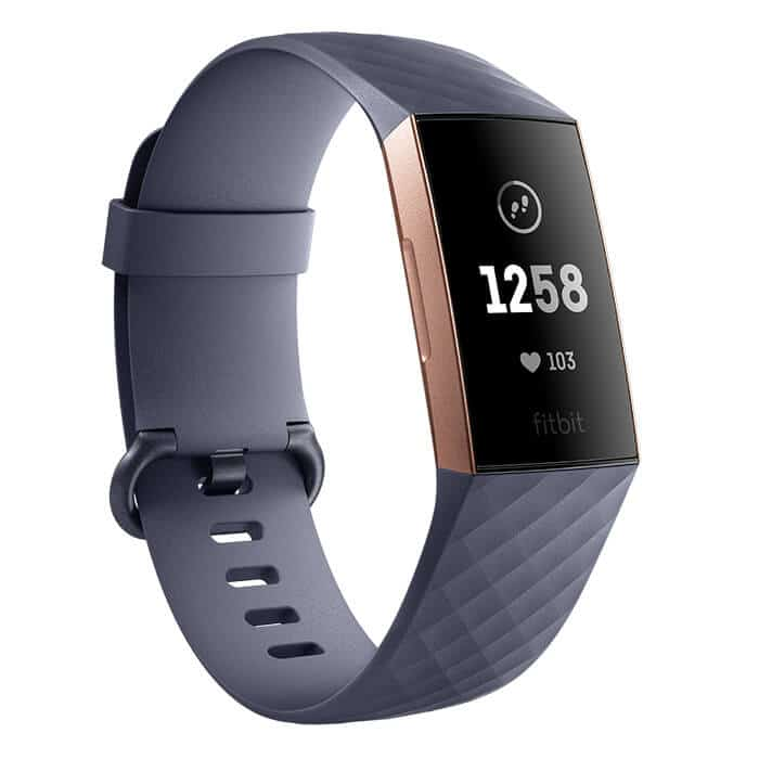 Fitbit Charge 3 Blue Gray