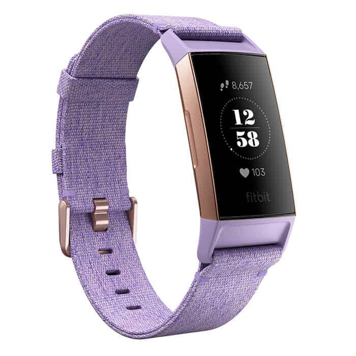 Fitbit Charge 3 Special Edition Lavender Woven