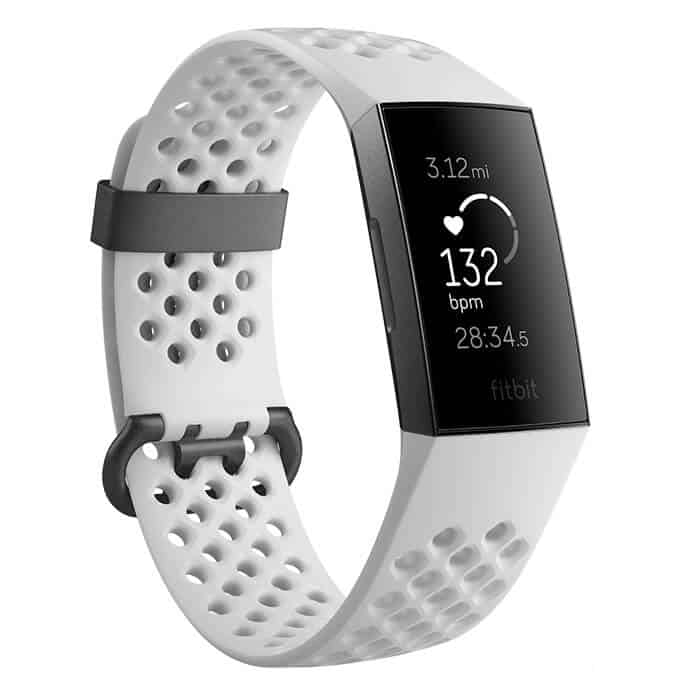 Fitbit Charge 3 Special Edition White Sport