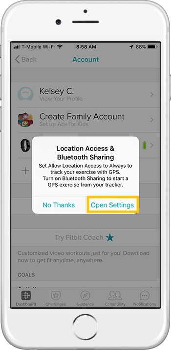 How to set up Fitbit Charge 3 iPhone Access