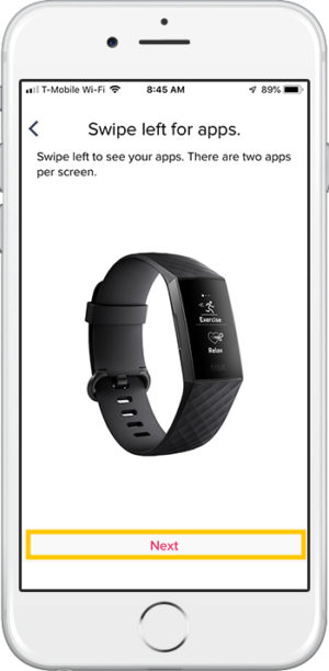 How to set up Fitbit Charge 3 iPhone Apps