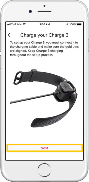 How to set up Fitbit Charge 3 iPhone Charge