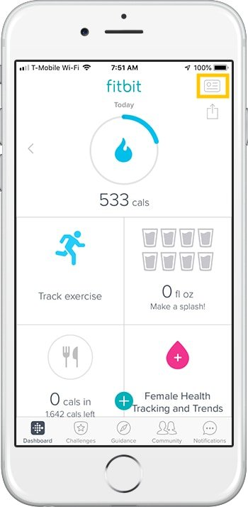 How to set up Fitbit Charge 3 iPhone Dashboard