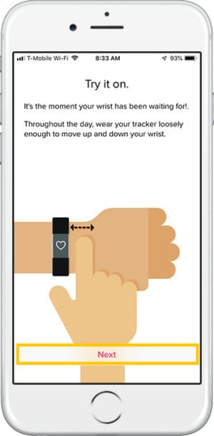 How to set up Fitbit Charge 3 iPhone Try