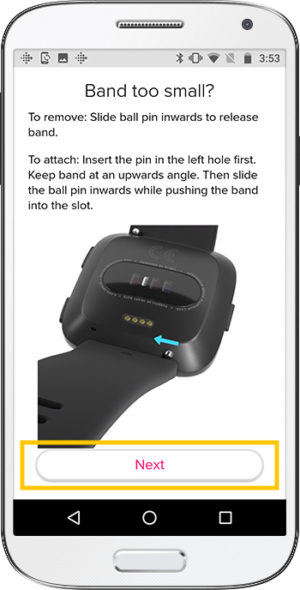 How to set up Fitbit Versa Android Bands