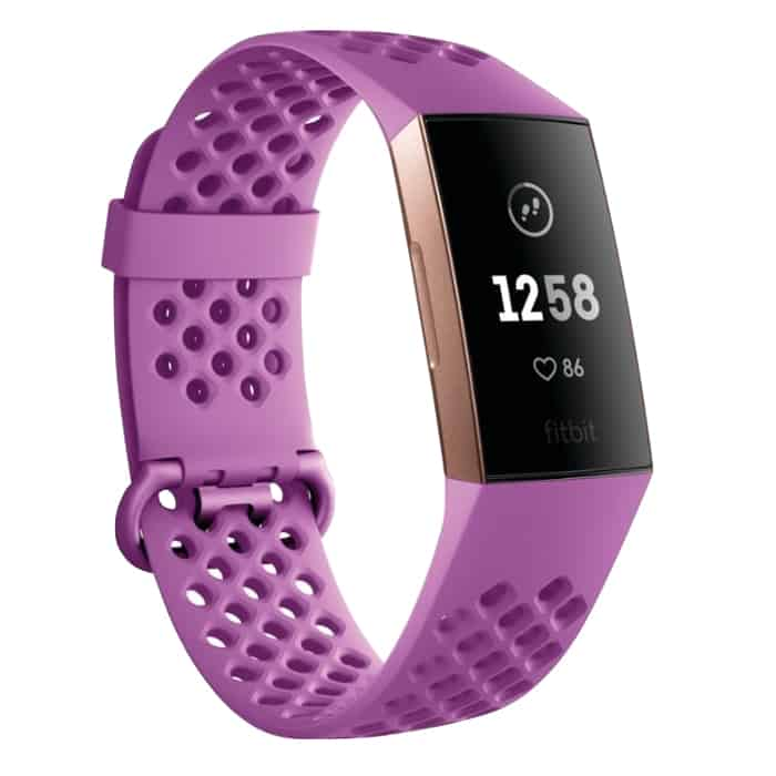 Fitbit Charge 3 Berry Rose Gold