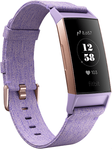 Fitbit Charge 3 Special Edition Lavender Rose Gold