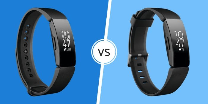 Fitbit Inspire vs Inspire HR - Wearable Whisperer
