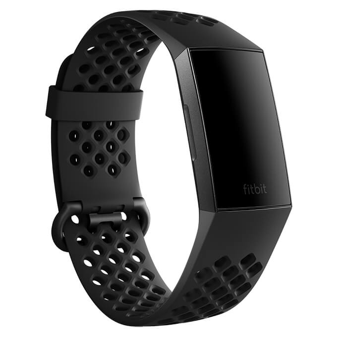 Fitbit Charge 3 Sport Band Black