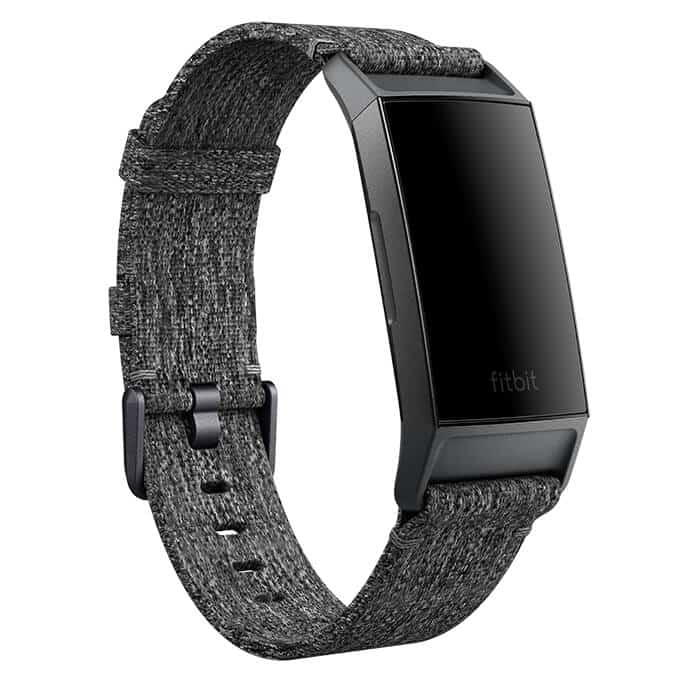 Fitbit Charge 3 Woven Band Charcoal