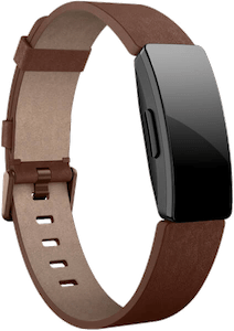Fitbit Inspire Leather Band Cognac