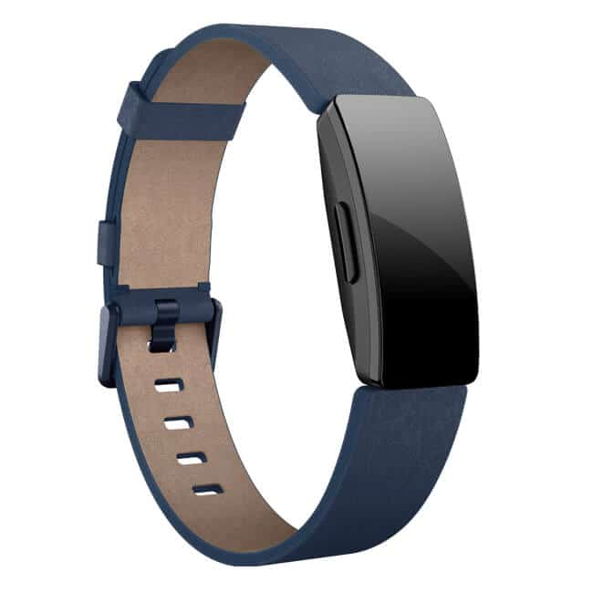 Fitbit Inspire Leather Band Midnight Blue