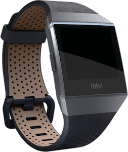 Fitbit Ionic Leather Band Midnight Blue