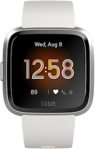 Fitbit Versa Lite Edition White Display