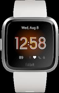 Fitbit Versa Lite Edition White Display