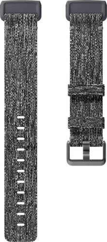 Fitbit Charge 3 Band Woven Charcoal Flat
