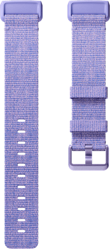 Fitbit Charge 3 Band Woven Periwinkle Flat
