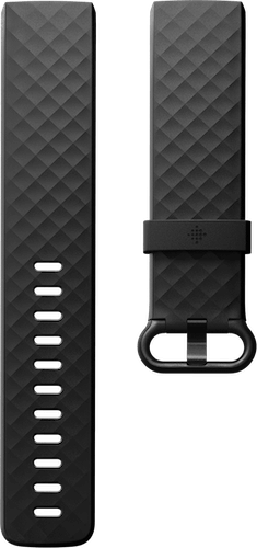 Fitbit Charge 4 Band Classic Black Flat