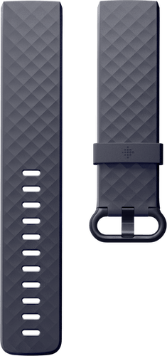 Fitbit Charge 4 Band Classic Blue Gray Flat