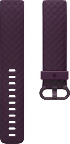 Fitbit Charge 4 Band Classic Rosewood Flat