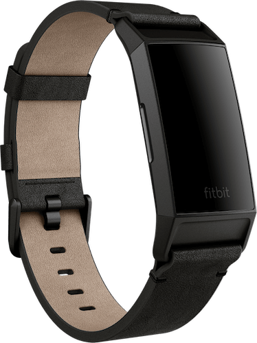 Fitbit Charge 4 Band Leather Black
