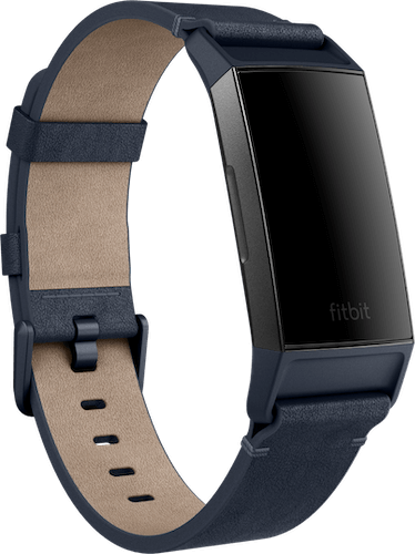 Fitbit Charge 4 Band Leather Midnight Blue