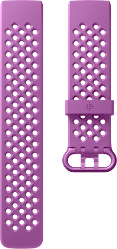 Fitbit Charge 4 Band Sport Berry Flat