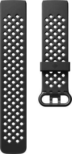 Fitbit Charge 4 Band Sport Black Flat