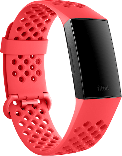Fitbit Charge 3 Band Sport Scarlet