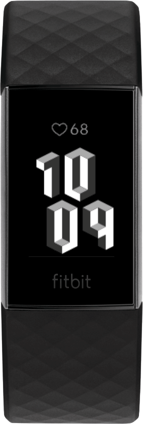 Fitbit Charge 4 Clock Face 3D Clock